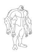 Ben 10 Four Arms Stands Tall And Proud from Ben 10