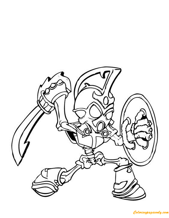 Free Skylanders Trap Team Coloring Pages, Download Free Clip Art ... | 729x564