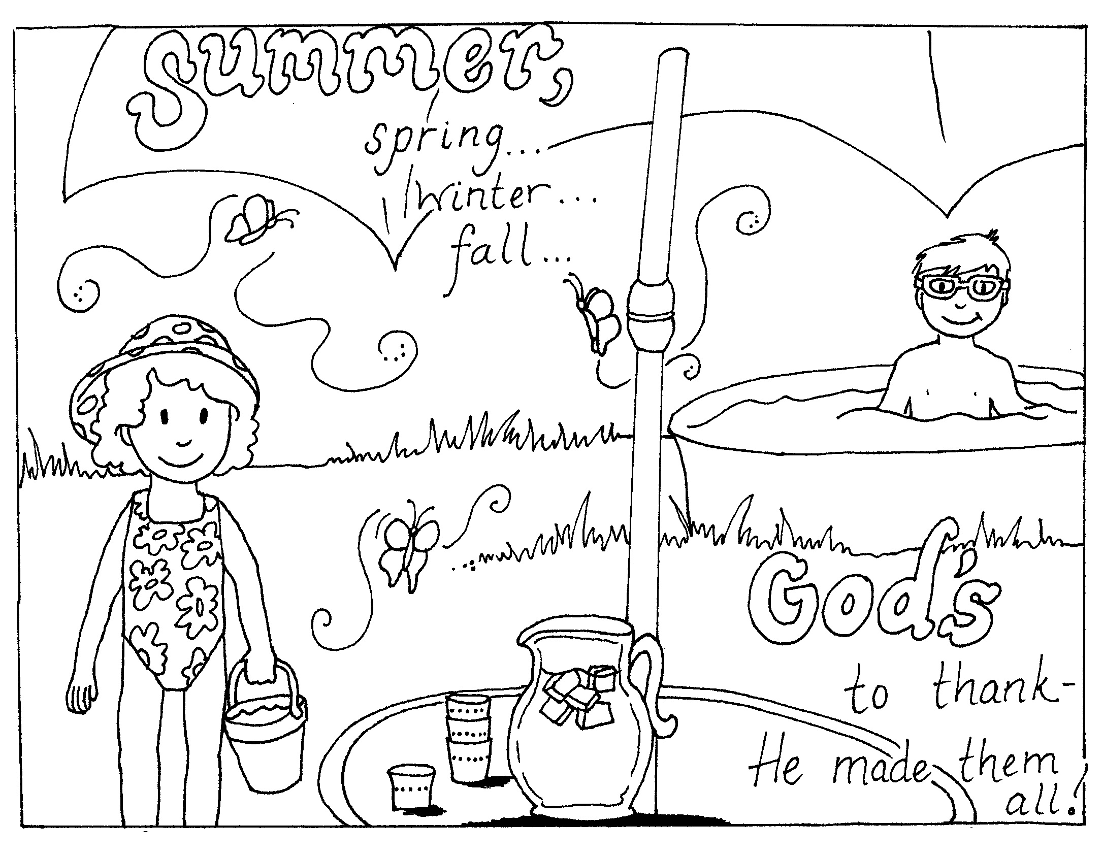 - Free Summer Coloring Page - Free Coloring Pages Online