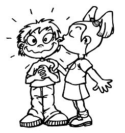 Friendship Day Coloring Page
