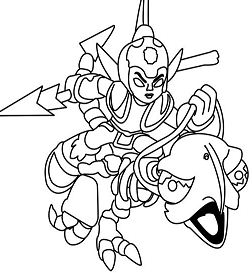 Flameslinger coloring pages ~ King Pen Coloring Page - Free Coloring Pages Online