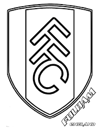 Fulham F.C. Coloring Page