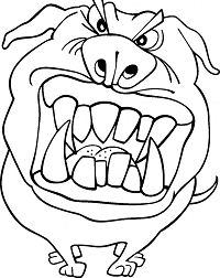 Funny Coloring Page
