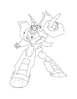 Funny Transformers Bumblebee Coloring Page