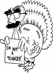 Funny Turkey Thanksgiving