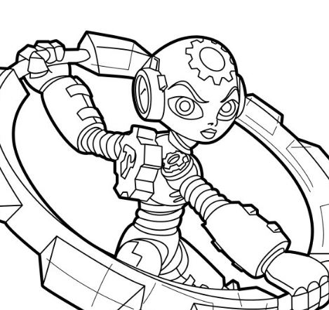 skylanders trap team coloring pages golden queen | Skylanders Trap Team Coloring Page - Free Coloring Pages ...