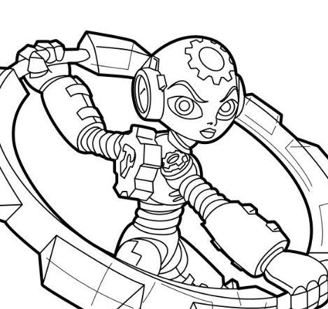 Skylander trap team coloring pages jawbreaker cast ~ Skylanders Trap Team Coloring Page - Free Coloring Pages ...