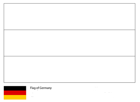 Flag of Germany-World Cup 2018