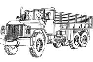 Good Semi Truck Coloring Page