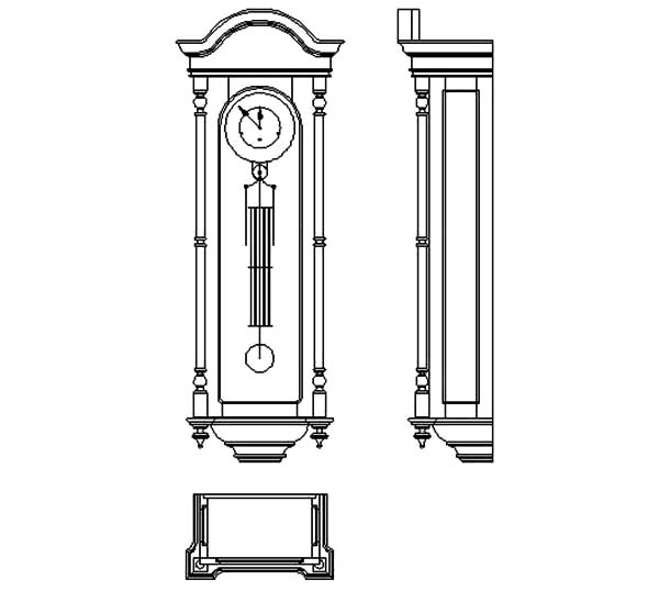 Grandfather Clock Furniture
