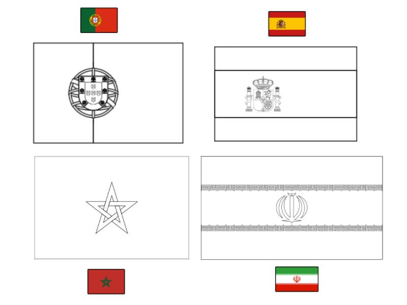Group B World Cup 2018 Coloring Page Free Coloring Pages