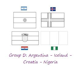 Group D World Cup 2018