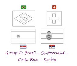 Group E World Cup 2018