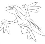 Grovyle From Pokemon Coloring Page