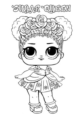 Hair Queen For Lol Surprise Doll