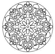 Halloween Mandala