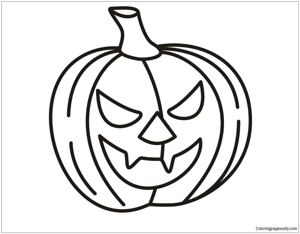 Halloween Pumpkin Shopkins Coloring Page - Free Coloring ...