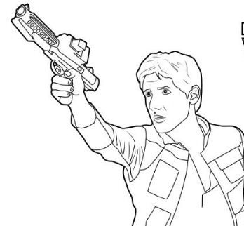 Han solo coloring pages han solo carbonite coloring page for Han solo coloring page