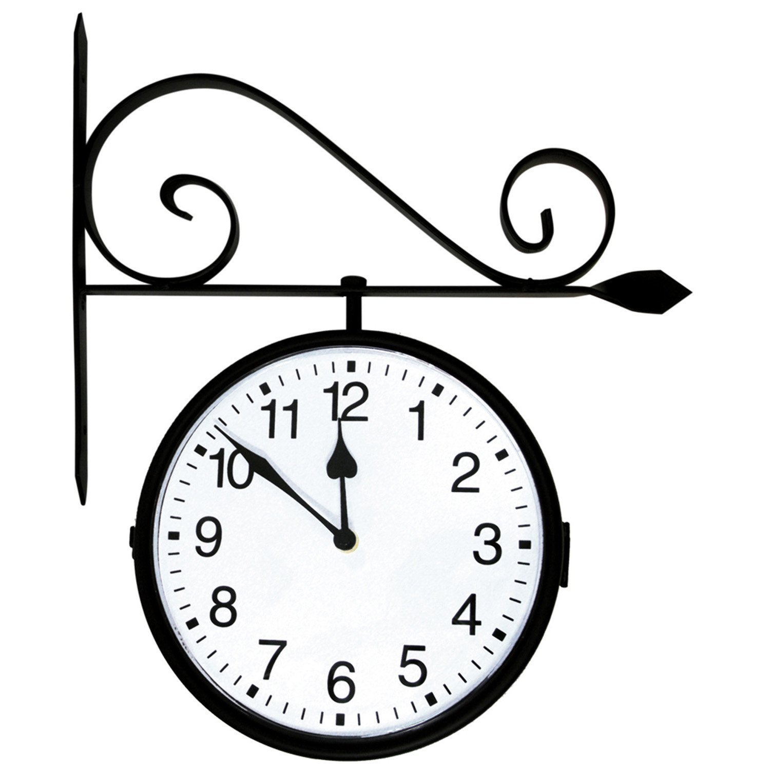 Hanging Clock Coloring Page