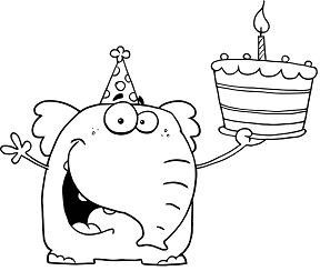 Happy Birthday Funny 1 Coloring Page