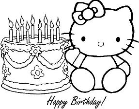 Happy Birthday Hello Kitty 1