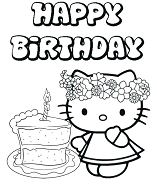 Happy Birthday Hello Kitty 4