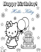 Happy Birthday Hello Kitty 5