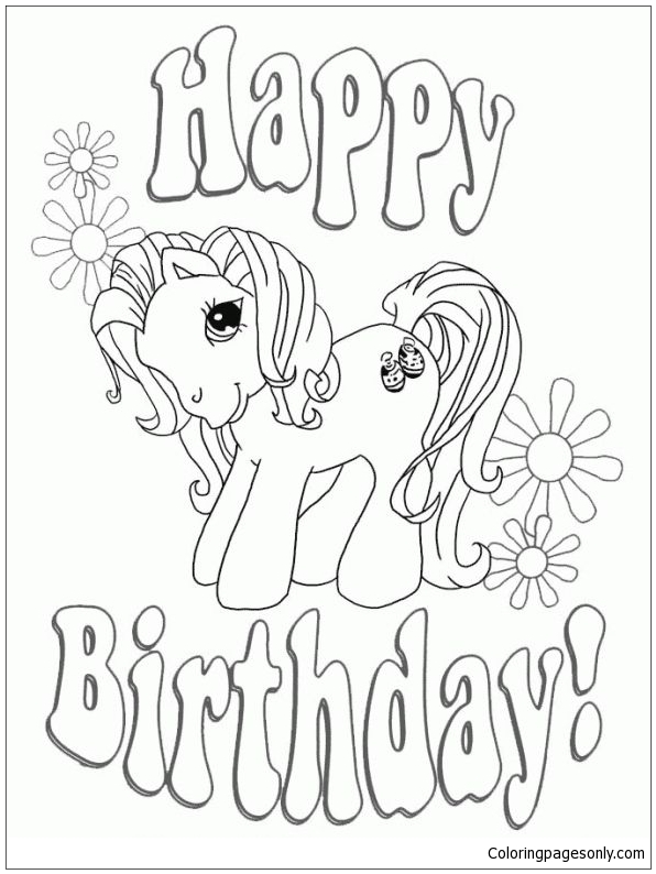 Get This Happy Birthday Coloring Pages Free Printable 46170 ! | 794x596