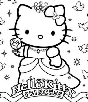 Happy Birthday Princess Hello Kitty