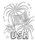 Happy Fourth-USA Fireworks