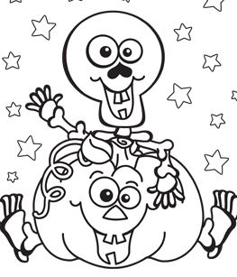 Happy Halloween 11 Coloring Page
