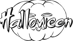 Happy Halloween 12 Coloring Page