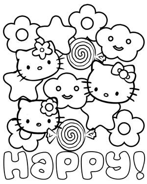 Happy Hello Kitty