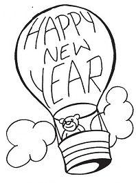 New Year Baloon