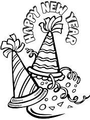 Happy New Year Hat 1
