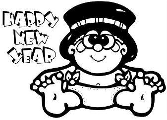 Happy New Year Hat 2