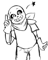 Happy Sans Character