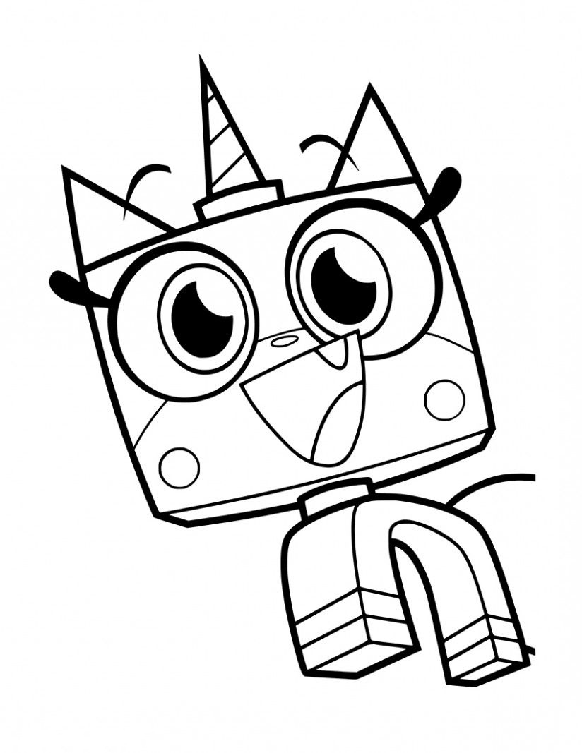 Happy Unikitty Lego