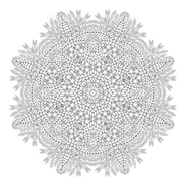 Hard Mandala Christmas
