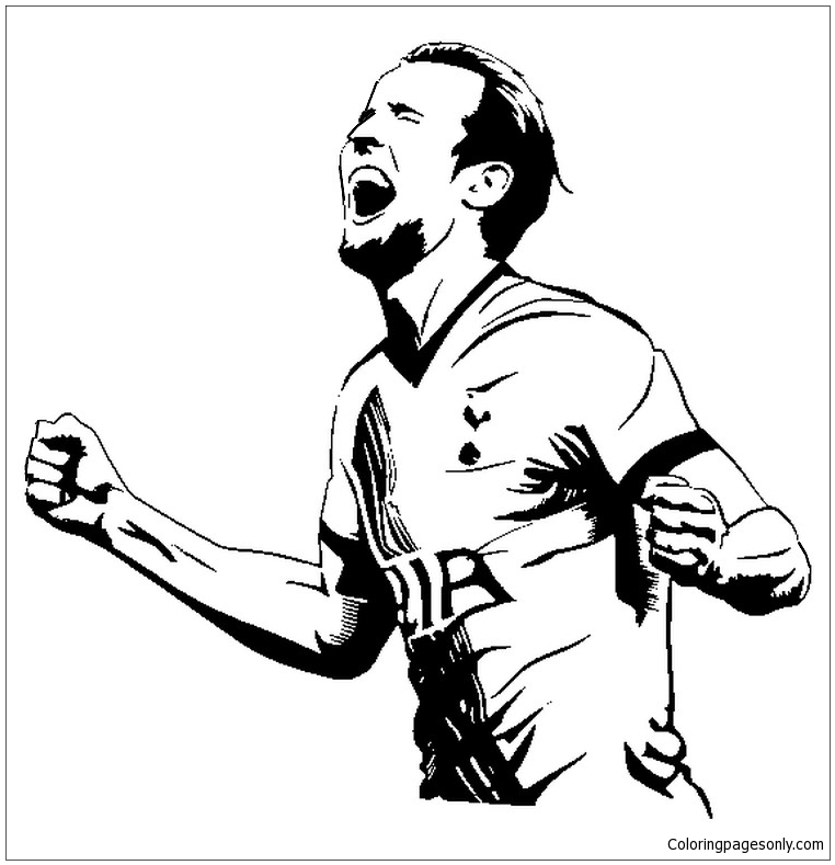 Harry Kaneimage 2 Coloring Page