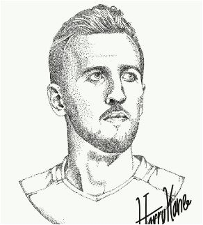 Harry Kane-image 9 Coloring Page