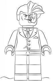 Harvey Dent Coloring Page
