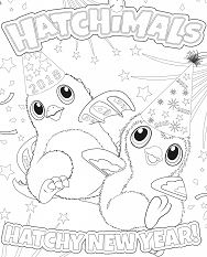 Hatchimals New Year