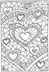 Healing Heart Coloring