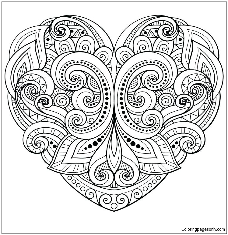 Flower Mandala Free Coloring Page — Kelly Dietrich Mandala Art | 775x749