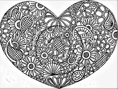 Heart Shape Mandala