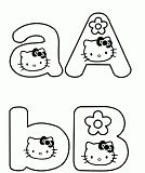 Hello Kitty Alphabet 1