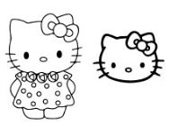 Hello Kitty With Face Mask