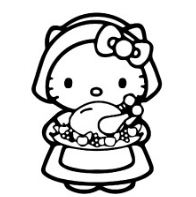 Hello Kitty And Food
