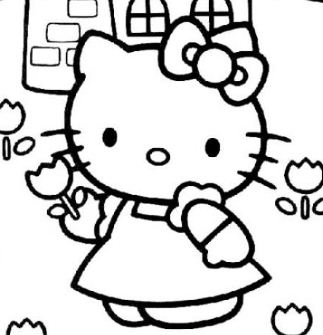 Hello Kitty With The Mill